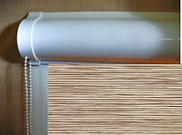 Ролеты тканевые (рулонные шторы) Natural Screen Besta uni закрытый короб, фото 1