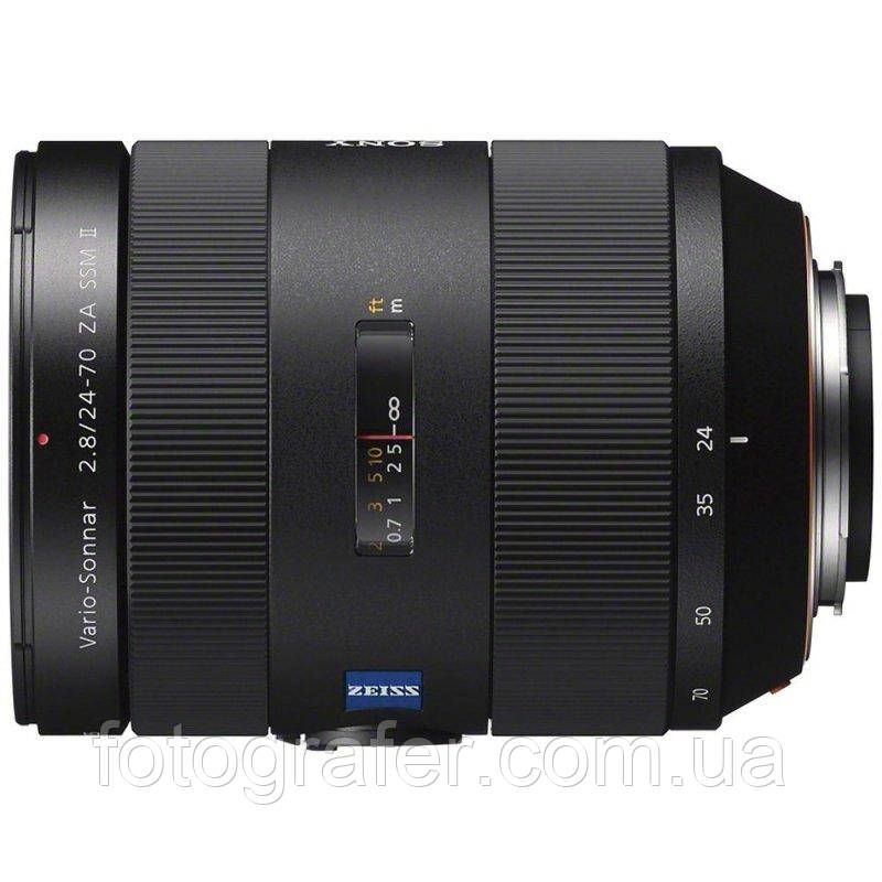 Объектив Sony 24-70mm f/2.8 SSM Carl Zeiss II DSLR/SLT ( SAL2470Z2 ) Гарантия производителя ( на складе )
