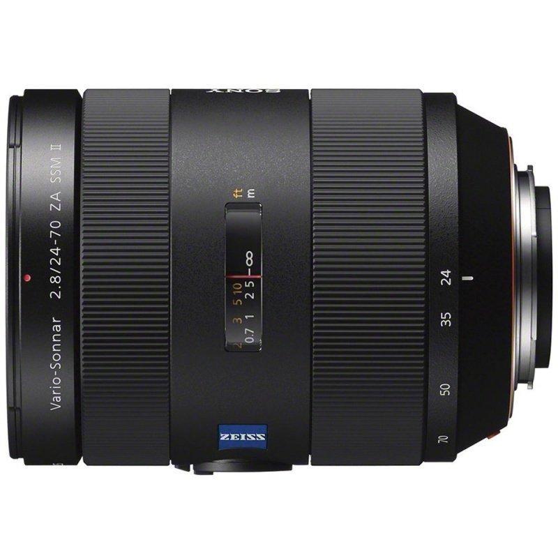 Об'єктив Sony 24-70mm f/2.8 SSM Carl Zeiss II DSLR/SLT ( SAL2470Z2 ) Гарантія виробника ( на складі )