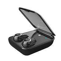 Бездротові навушники SUNROZ TWS I7 Plus Bluetooth навушники вкладиші Чорний (SUN3922), фото 1