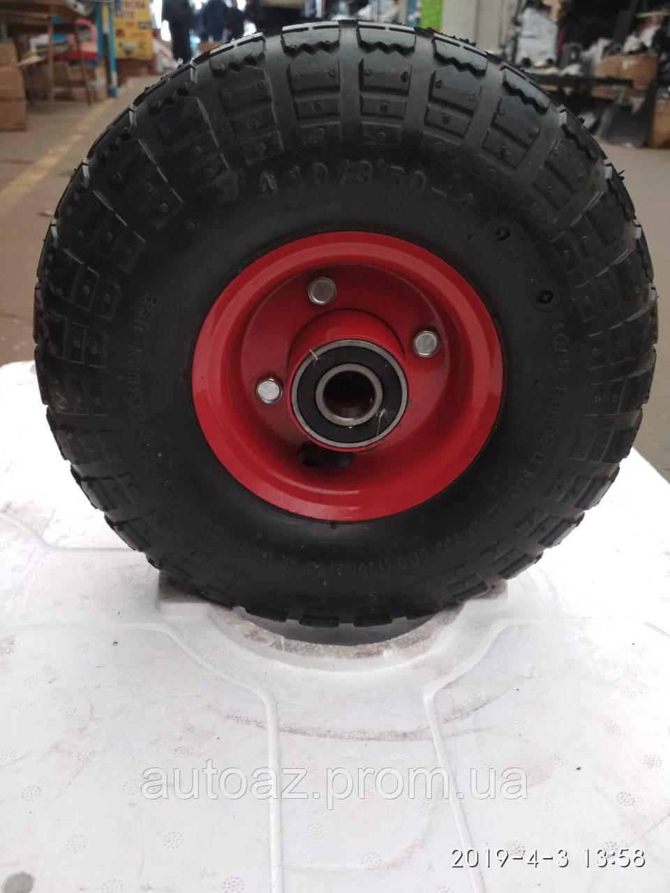 Колесо для тачки пневматическое 3.50-4 20mm