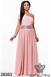 Обворожительное, женское, легкое вечернее платье 48-52р.(6расцв), фото 4