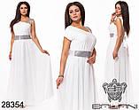 Обворожительное, женское, легкое вечернее платье 48-52р.(6расцв), фото 7