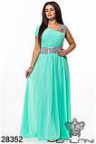 Обворожительное, женское, легкое вечернее платье 48-52р.(6расцв), фото 2