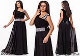 Обворожительное, женское, легкое вечернее платье 48-52р.(6расцв), фото 9