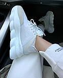 Женские кроссовки Versace Chain Reaction 2 Chainz White. Живое фото (Реплика ААА+), фото 5