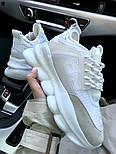 Женские кроссовки Versace Chain Reaction 2 Chainz White. Живое фото (Реплика ААА+), фото 3