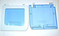 Крышка бака отжима в белом пластике для стиральной машинки полуавтомат Saturn (L=315mm*295mm)