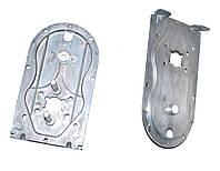 Металлический низ корпуса редуктора для мясорубки Saturn/Delfa