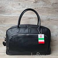 Кожаная дорожная спортивная сумка Италия, фото 1