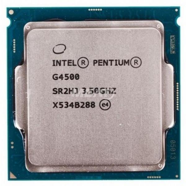 Процесор Intel Pentium G4500 (CM8066201927319) Intel Pentium G4500 (CM8066201927319) Black