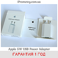 Зарядка для iPhone Apple 5W USB Power Adapter MD813ZM/A А1400 Сетевое зарядное устройство на Айфон, iPod