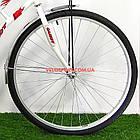 Городской велосипед Салют Ретро 28 дюймов бело-красный, фото 5