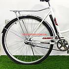Городской велосипед Салют Ретро 28 дюймов бело-красный, фото 7