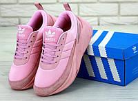 Женские кроссовки Adidas Sharks Rose (Реплика ААА+)