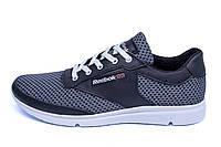 Мужские летние кроссовки сетка Reebok Grey Style (реплика), фото 1