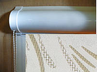 Ролеты тканевые (рулонные шторы) Champagne Besta uni закрытый короб, фото 1