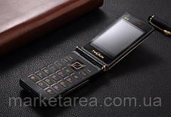 "Телефон раскладушка Tkexun G10 black черный (2SIM) 3"" 2Мп 3000 мА/ч"