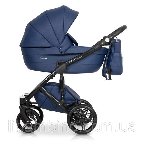 Дитяча універсальна коляска 2 в 1 Riko Naturo Ecco 02 Denim