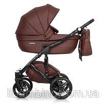 Дитяча універсальна коляска 2 в 1 Riko Naturo Ecco 03 Chocolate
