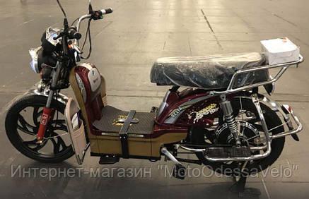 Электрический скутер грузовой Партнёр Delta 500w 60v Красный, фото 2