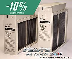 TRION HE Plus 2000. Єлектростатический комерційний канальний воздухоочиститель