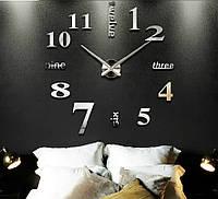 Настенные часы объемные 1м с римскими цифрами diy сделай сам