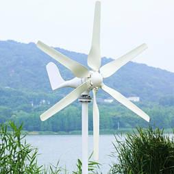 Ветрогенератор JSRX ZXX (RX-400H3) 6 лопастей