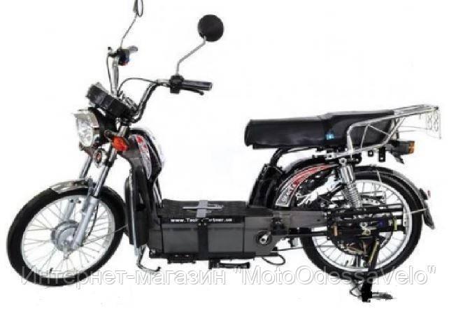 Электрический скутер грузовой Партнёр Delta 500w 60v Чёрный