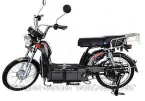 Электрический скутер грузовой Партнёр Delta 500w 60v Чёрный, фото 2
