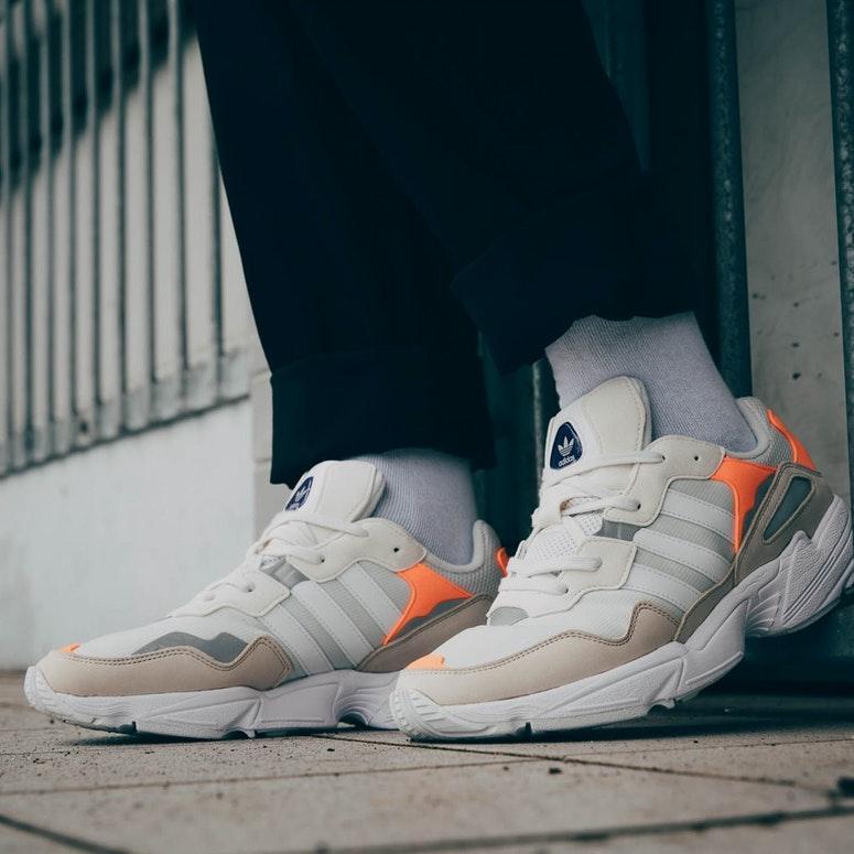 Мужские кроссовки Adidas Yung 96 Gray (Реплика ААА+)
