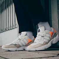 Мужские кроссовки Adidas Yung 96 Gray (Реплика ААА+), фото 1