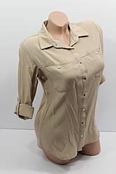 Женская рубашка с длинным рукавом оптом B.D. 3461