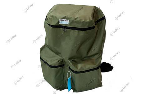 Рюкзак SkyFish 60L (олива), фото 2