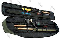 Чехол с фиксаторами для удилищ SkyFish Зеленый 130см