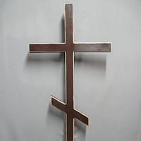 Крест 3 ровный лак