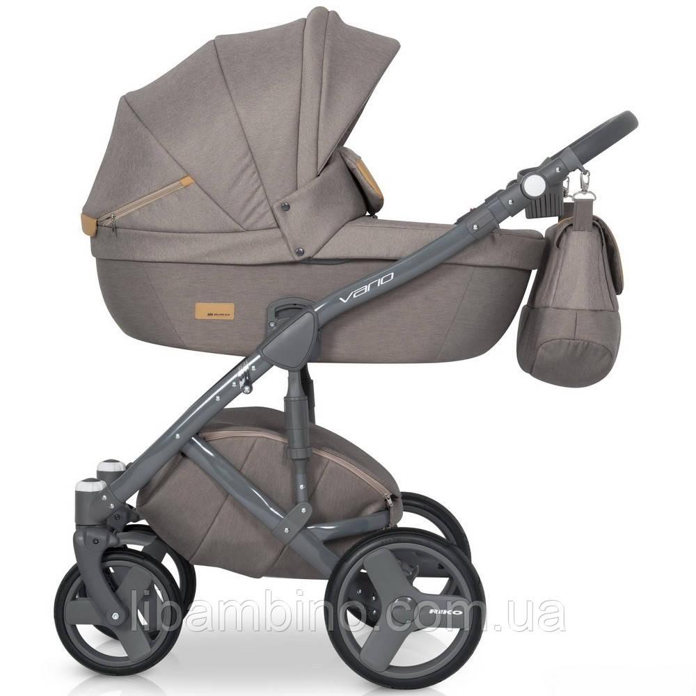 Дитяча універсальна коляска 2 в 1 Riko Vario 02 Caramel