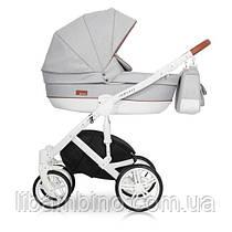 Дитяча універсальна коляска 2 в 1 Riko Naturo 01 Grey Fox