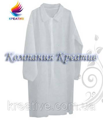 Халаты белые бязь 142 ГОСТ (от 50 шт.)