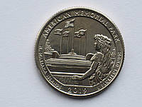США 25 центов (квотер) 2019 AMERICAN MEMIRIAL PARK