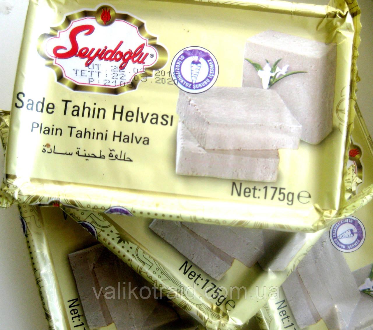 Халва тахиновая ваниль Seyidoglu  , вес 175 грамм, Турецкие сладости