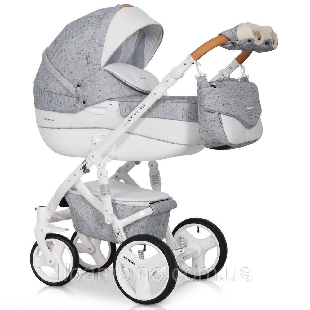 Дитяча універсальна коляска 2 в 1 Riko Brano Luxe 05 Grey Fox