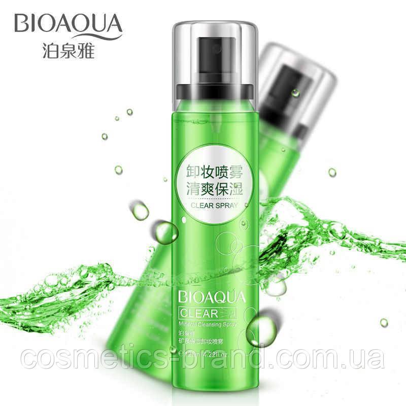 Минеральная вода для снятия макияжа BIOAQUA в спрее
