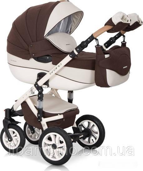 Дитяча універсальна коляска 2 в 1 Riko Brano Ecco 13 Chocolate
