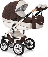 Дитяча універсальна коляска 2 в 1 Riko Brano Ecco 13 Chocolate, фото 1