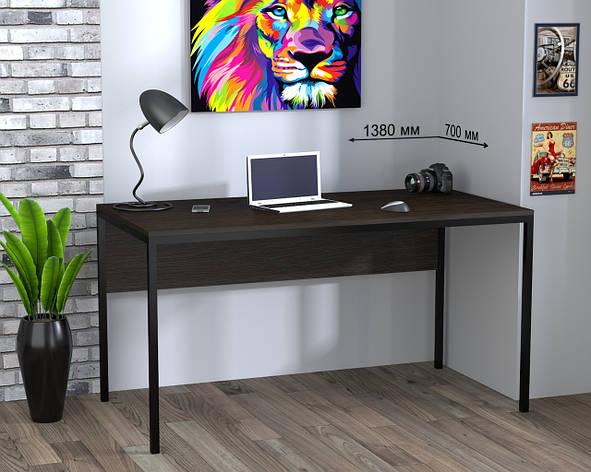 Письменный стол лофт (L-3p), фото 2