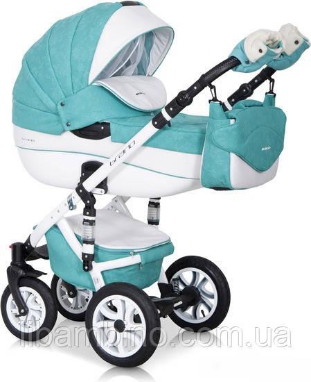 Дитяча універсальна коляска 2 в 1 Riko Brano Ecco 15 Malachit