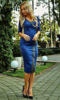 Женское платье из трикотажа, фото 1