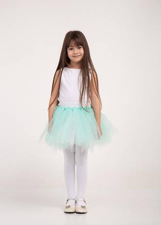 b021786a233 Детское летнее нарядное праздничное платье с пышной фатиновой юбкой ...