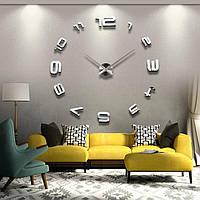 Настенные объемные часы mirrorquartzдо 1.2м с цифрами сделай сам